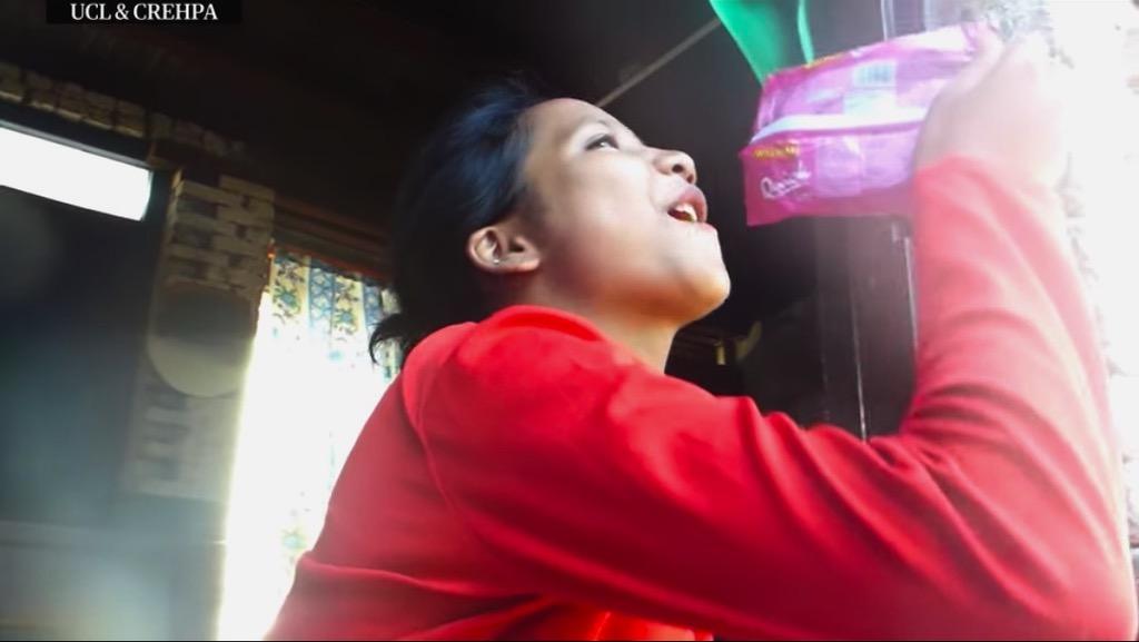 Imagen tomada del video de Laxmi y Nima.