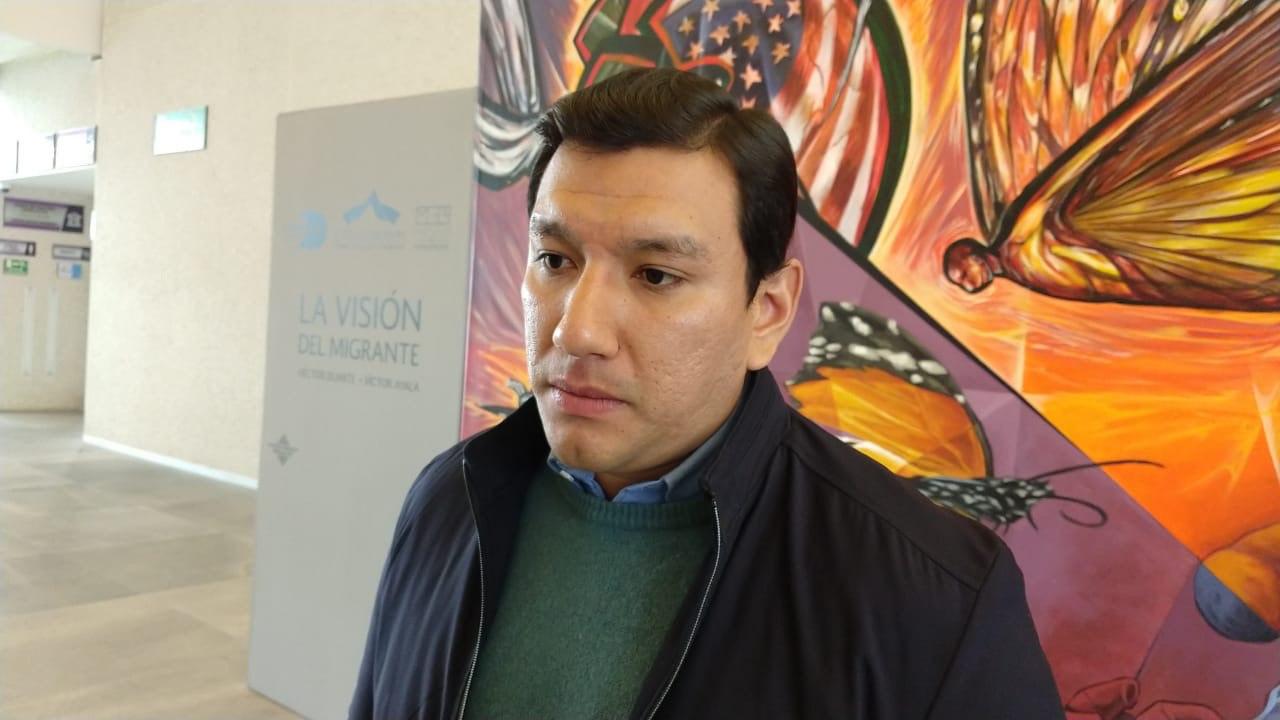 """José Gutiérrez, del colectivo """"A tu encuentro"""". Foto: Carmen Pizano"""
