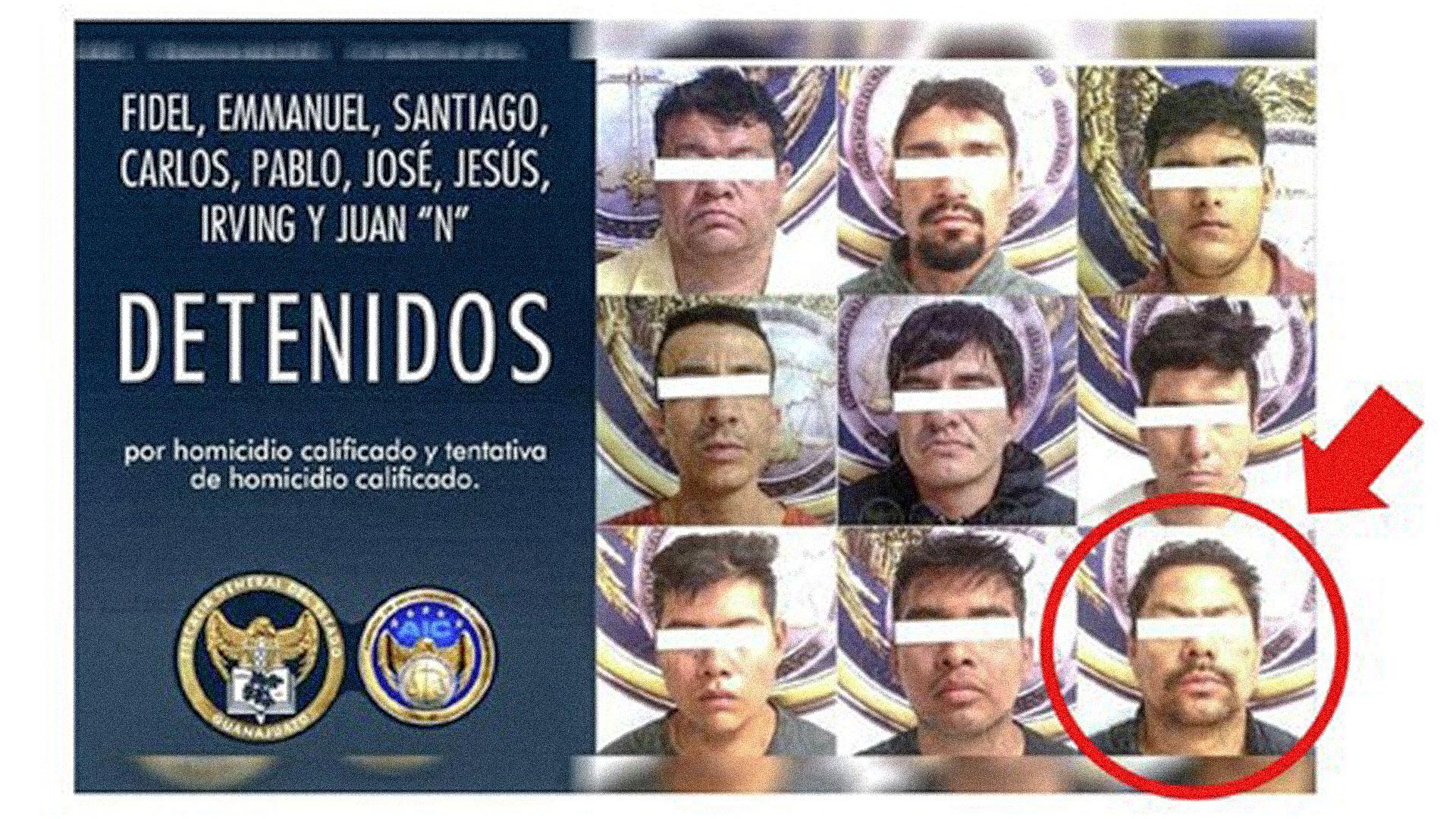 Uno de los hijos de los dueños de Tacos Emilios formaba parte de una célula del CJNG que perpetró el ataque al Bar Negros de Celaya.