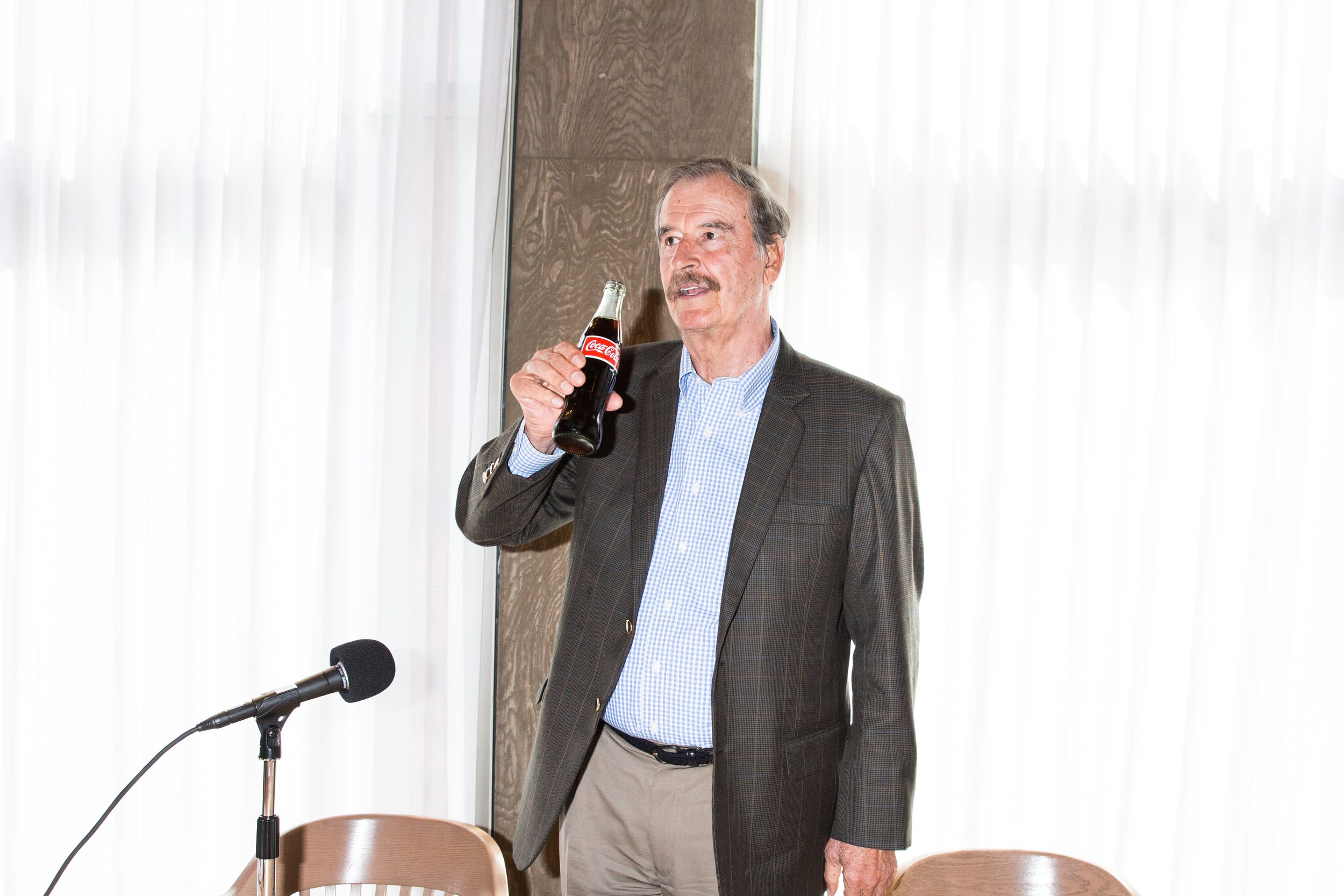 Vicente Fox. Foto: BusinessInsider.