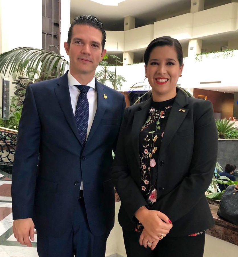 Raúl Montero y Sophia Huett. Foto: archivo