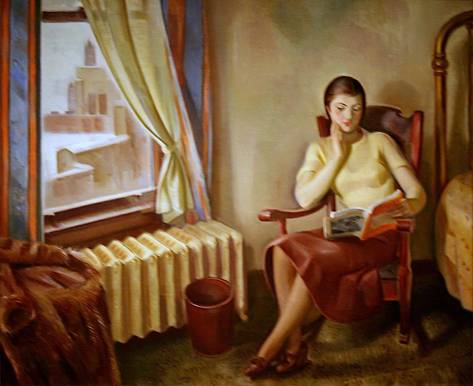 """""""Chicago Interior"""", 1933-1934 de J. Theodore Johnson. Foto: CC nostri-imago."""