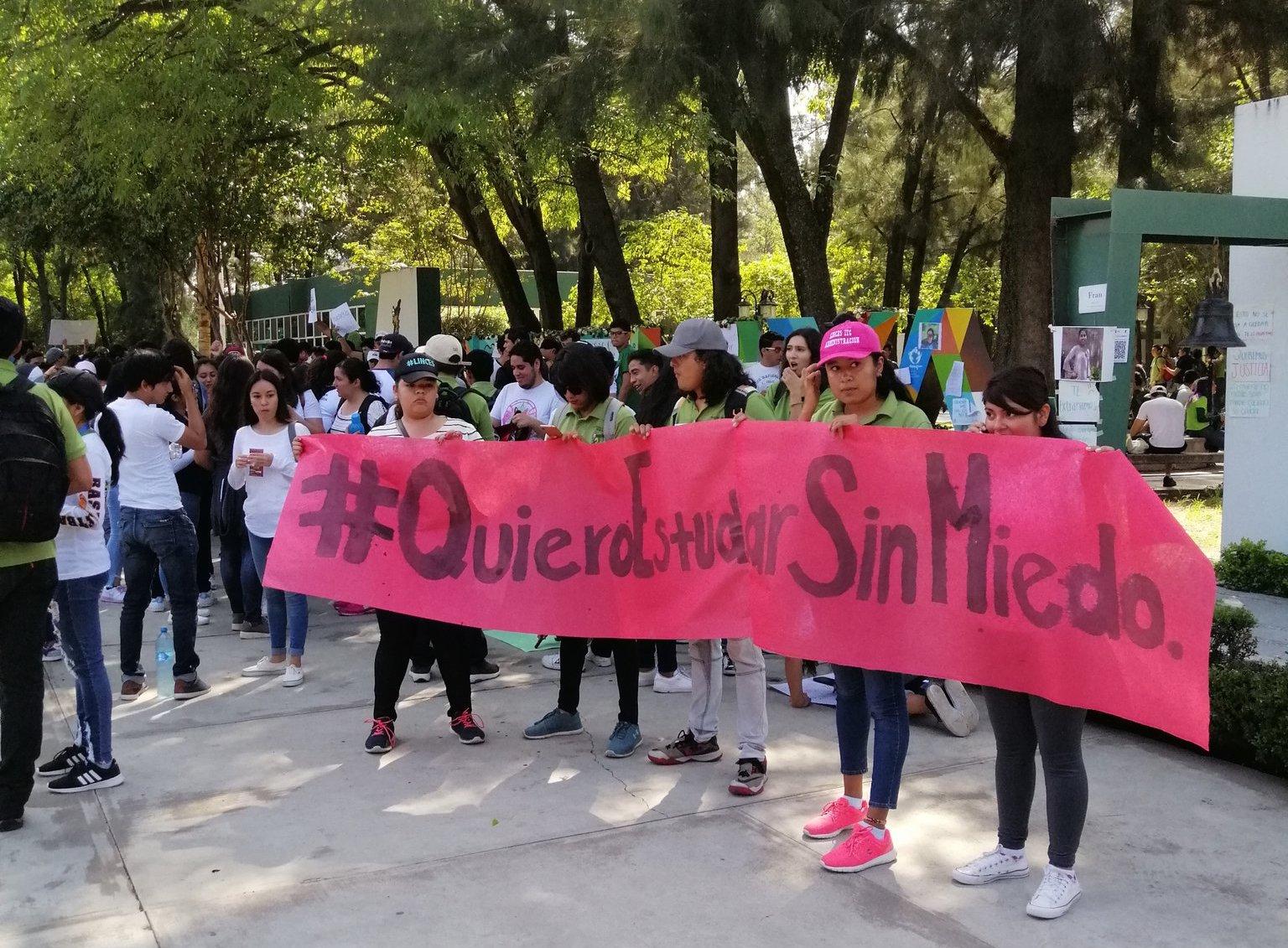La exigencia de los jóvenes. Foto: ItcelayaOficial